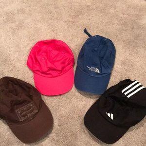 4 women's caps